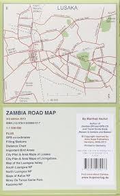 Zambia Road Map 9783932084577 Amazon Com Books