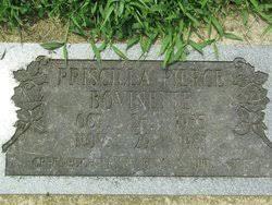 Priscilla Pierce Bovinette (1935-1981) - Find A Grave Memorial