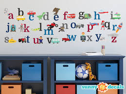 Small Picture Alphabet Wall Decal Small Home Decor Inspiration Marvelous