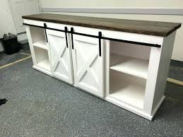 diy farmhouse entry table large size of barn door coffee table entry sliding buffet