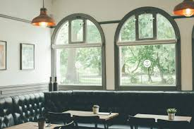 cafe lighting and living. Cafe Seating Interior Window Restaurant Home Cottage Property Living Room Empty Furniture Lighting Design And