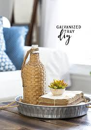 diy galvanized tray for less than 8