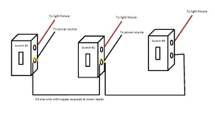 wiring two switches from one source wire center \u2022  how to wire two lights to one switch reverse hot and neutral wires rh aiomp3s club