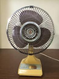antique and vintage ceiling and desk fan restoration