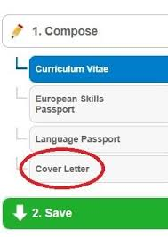 Europass Cover Letters How To Make A Good Cover Letter Let The Europass Cover