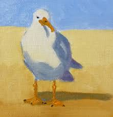 sea bird paintings painting small impressions