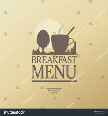 breakfast menu template breakfast menu card design template stock vector 89139310