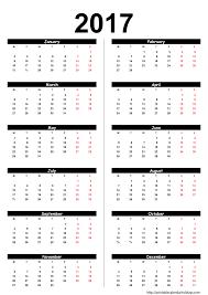 Empty Calendar Template 2015 2017 Blank Yearly Calendar Template Printable Calendar