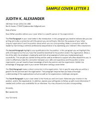 Awesome Cover Letter Intro Paragraph Examples