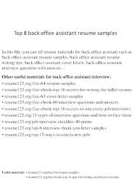 interview questions for executive assistant idea administrative assistant skills resume samples and