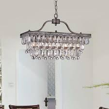 coloured pear shaped faceted crystal drops this gorgeous chandelier is accompanied by glass crystal droplets and lights