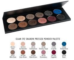 ben nye glam 12 color eye shadow palette