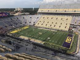 Lsu Tiger Stadium Seating Chart With Seat Numbers Tiger Stadium Section 612 Rateyourseats Com