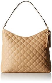Amazon.com: Calvin Klein Quilted Leather Hobo Bag, Nude, One Size ... & Calvin Klein Quilted Leather Hobo Bag, Nude, One Size Adamdwight.com