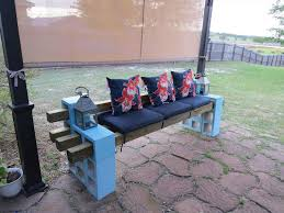 cinderblock furniture. Pit Album On Diy Cinder Block Furniture Backyard Fire With Couch Cinderblock