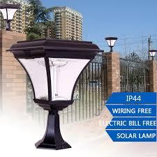 Lighting  Outdoor Solar Lamp Post Canada Rethink Outdoor Led Solar Garden Post Lights