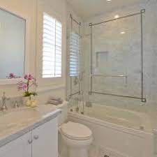 carrara marble tile. Traditional Neutral Bathroom With Carrara Marble Tile Shower