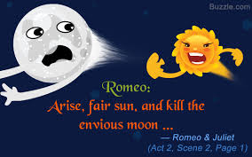 epic must examples of personification in romeo and juliet romeo says arise fair sun and kill the envious moon