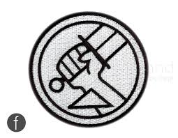 boy bprd emblem iron on patch