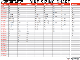 55 Judicious Felt Road Bike Sizing Chart