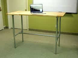 sit stand desk diy electric