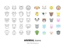 Animal Icon Cute Animal Icons Sketch Freebie Download Free Resource