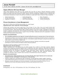 Rn Case Manager Resume Nurse Case Manager Resume Examples Examples o RS Geer Books 1