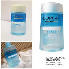 l oreal gentle lip eye makeup remover review เคร องสำอางค นำเข า