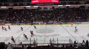 Giant Center Seating Chart Bears Vs Falcons Picture Of Giant Center Hershey