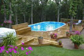 Innovation Above Ground Swimming Pool Drawing Deck Plans Best Pools With Concept Ideas