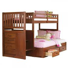 Forrester Twin/Full Staircase Bunk Bed