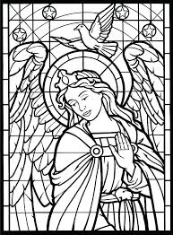 Glass Coloring Pages Disney Stained Glass Coloring Pages Zupa