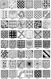 Official Zentangle Patterns Amazing Design
