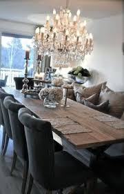add an upholstered bench to the dining room table it s fortable and adds