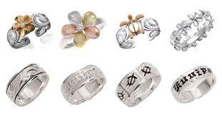 hawaiian style rings and toe rings