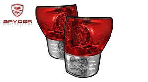 Advance Auto Parts Brake Light Bulb Spyder Toyota Tundra 07 13 Led Tail Lights Red Clear