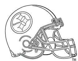 nfl coloring book pages logo also cool helmets printable logos helmet b