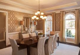 chair rail dining room. Plain Dining Traditional Dining Room With Interior Wallpaper U0026 Chair Rail  For Rail