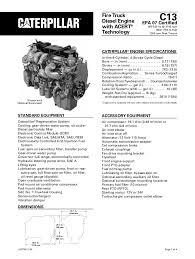 Cat Diesel Engine C 13