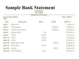 Blank Bank Statement Template Best Sample Bank Statement Vaydileeuforicco
