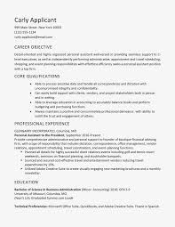 Administrative Skills Resume Personal Assistant Sample And List
