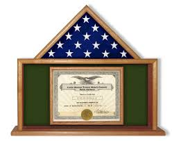 3x5 flag display case. Fine Flag USMC Flag And Certificate Display Case With 3x5