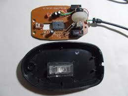inside an optical mouse electronic repair tips now de er the 5mm red led using a thin tip ering iron de ering pump while doing so please be very gentle and try to not to over heat the