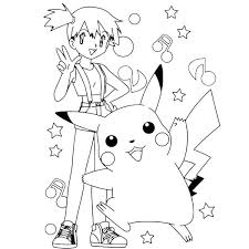 Pikachu Coloring Pages Coloring Page Valentinamionme