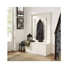 Modern Hall Tree Coat Rack Entryway Organizer Bench Wood Hall Tree Coat Rack Storage Entryway 68