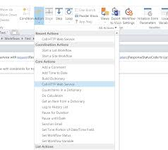 Sharepoint Designer Call Http Web Service In Sharepoint Workflow