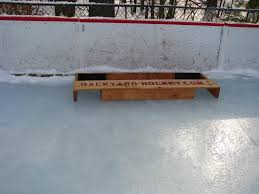 image of pond hockey nets diy