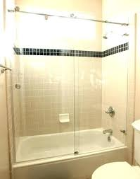 bathtub door installation cost how wide and tall is the tub glass