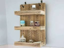 rustic bathroom shelves made from reclaimed pallet wood corner shelf rustic wood corner shelf