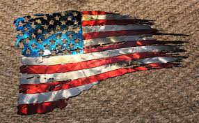 patriotic metal wall art